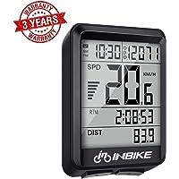 Velocímetro para bicicleta, resistente al agua, inalámbrico, cronómetro, velocidad media, tiempo de viaje, grabación de distancia, cuentakilómetros para bicicleta, computadora con retroiluminación LED para ciclismo