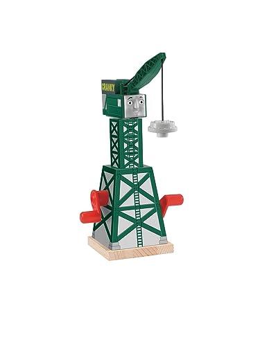 Thomas & Friends Wooden Railway Cranky The Crane Set