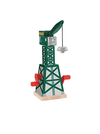 Fisher Price Thomas Friends Wooden Railway Cranky The Crane