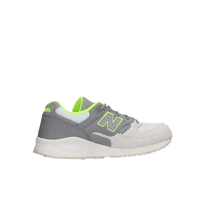 New Balance M530HVZ Sneaker Homme Gris 43 kE6I3