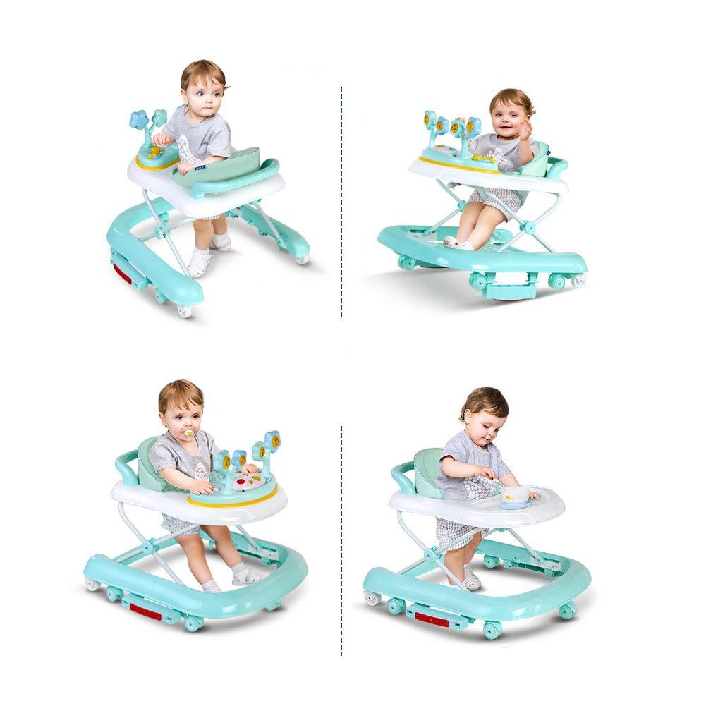 WMYJXD Andador para Bebés, Andador Plegable En Forma De U ...