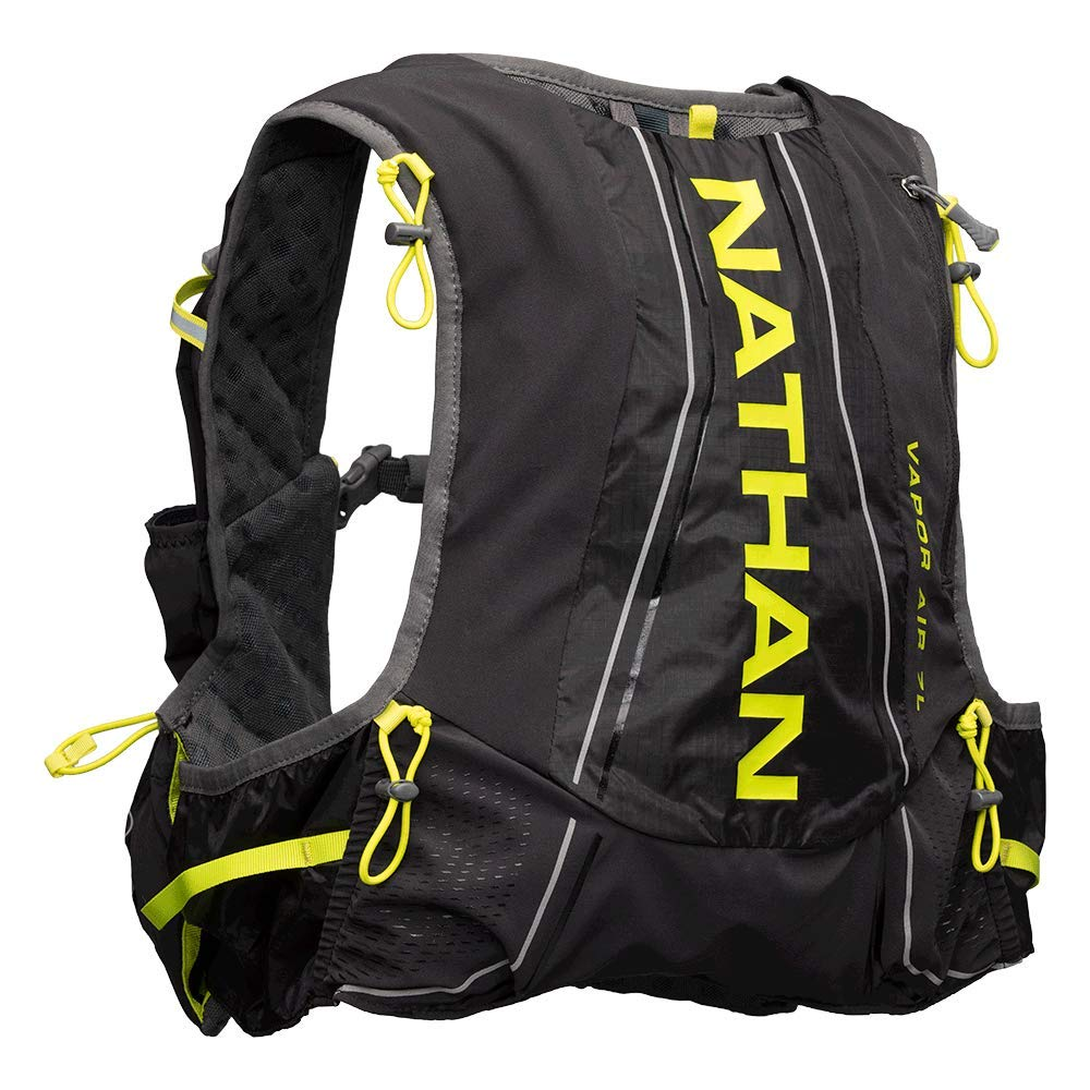 Nathan Men s Hydration Pack Running Vest VaporAir 7L Capacity with 2.0 L Water Bladder Included, Hydration Backpack – Running, Marathon, Hiking, Outdoors, Cycling and More