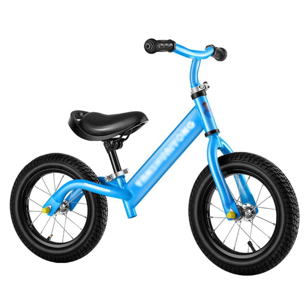 【着後レビューで 送料無料】 スライディングカー子供スクーターウォーカーベビーノーペダル自転車キッズおもちゃダブルホイール2-6歳 B07FZ4CNRD B07FZ4CNRD Blue Blue Blue Blue, 美麻村:4299b901 --- a0267596.xsph.ru