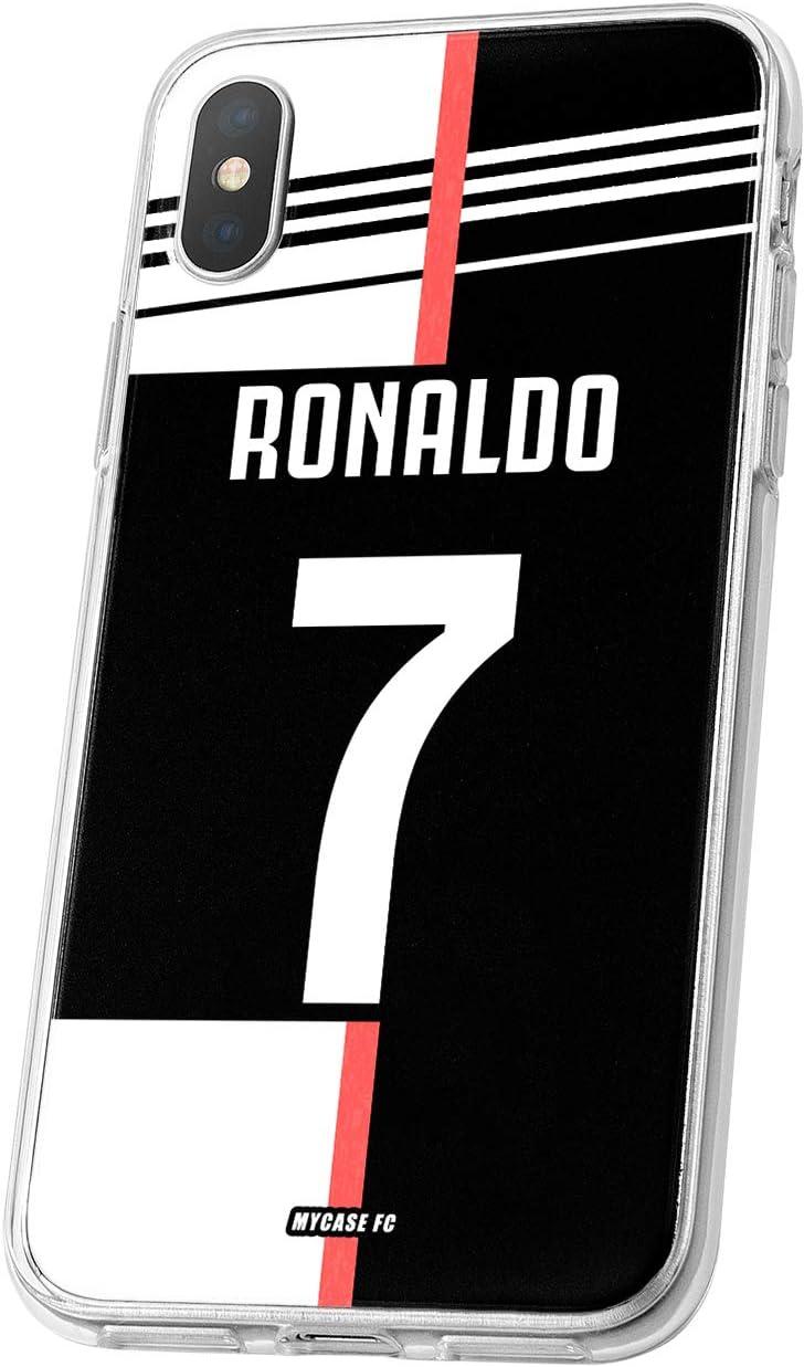 MYCASEFC Coque Foot Real Madrid iPhone 7//8 Coque Football Personnalisable en Silicone Housse de Smartphone personnalis/ée et fabriqu/ée en France en TPU