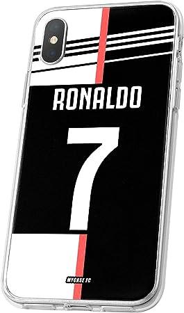 MYCASEFC Coque Foot Ronaldo CR7 Wiko Lenny 2 Silicone Personnalisable. Housse DE Football PERSONNALISÉE FABRIQUÉE en France