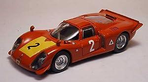 BEST MODEL BT9186 ALFA ROMEO 33.2 N.2 3rd 500 KM IMOLA 1968 M.CASONI-S.DINI 1:43