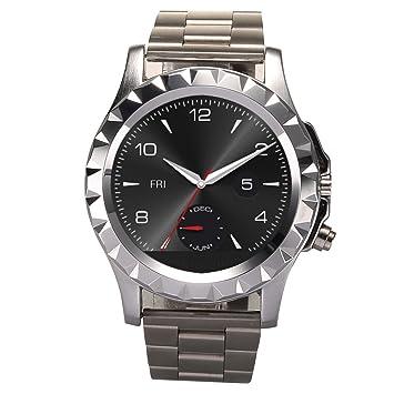 No.1 Sun S2 - Smart Watch(Bluetooth 3.0, Sync, Llamada, Música, IP67 Impermeable, Podómetro,Ritmo cardíaco, Bluetooth disparador automático,Avisos ...