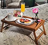 Romance Helpers Breakfast in Bed Box for Mom with I Love Mom Card and Bamboo Table