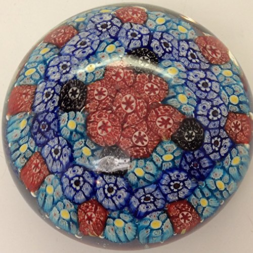 Round Dome Glass Unusual Paperweight Art Glass 4