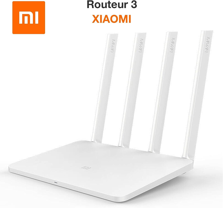 Xiaomi XIROUTER3 Mi WiFi 3 - Router, Color Blanco