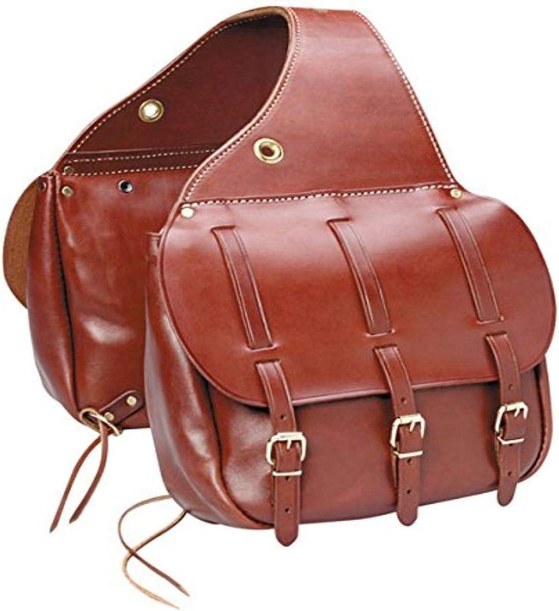 Triple K Brand Cavalry Saddle Bag Walnut Oil