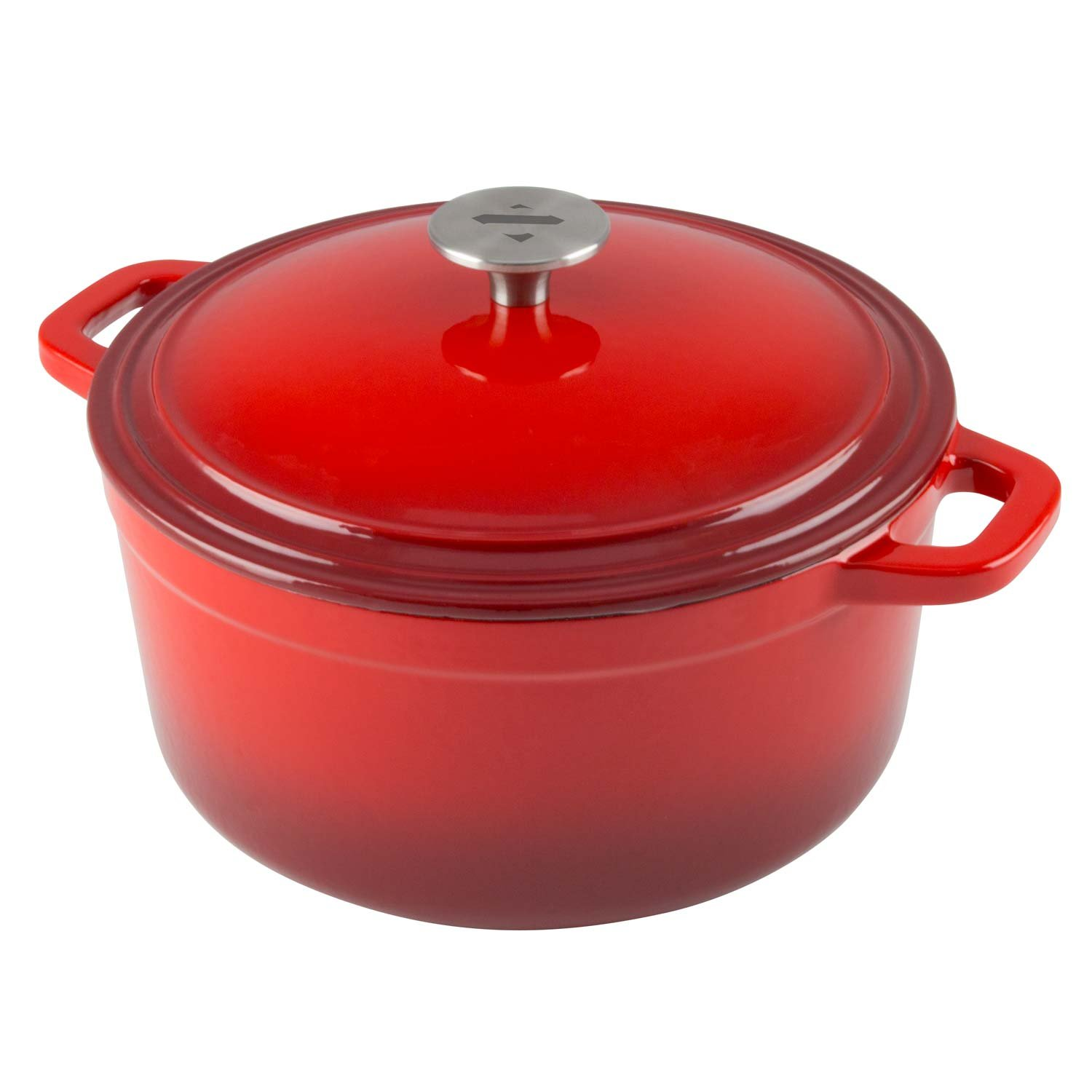 Amazon.com: Zelancio Cookware 6 Quart Cast Iron Enamel Covered ...