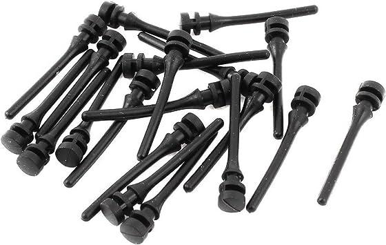 Tornillos de antivibracion - TOOGOO(R) PC ventilador para montaje Pin antivibracion ruido tornillos de silicona 20 piezas: Amazon.es: Bricolaje y herramientas