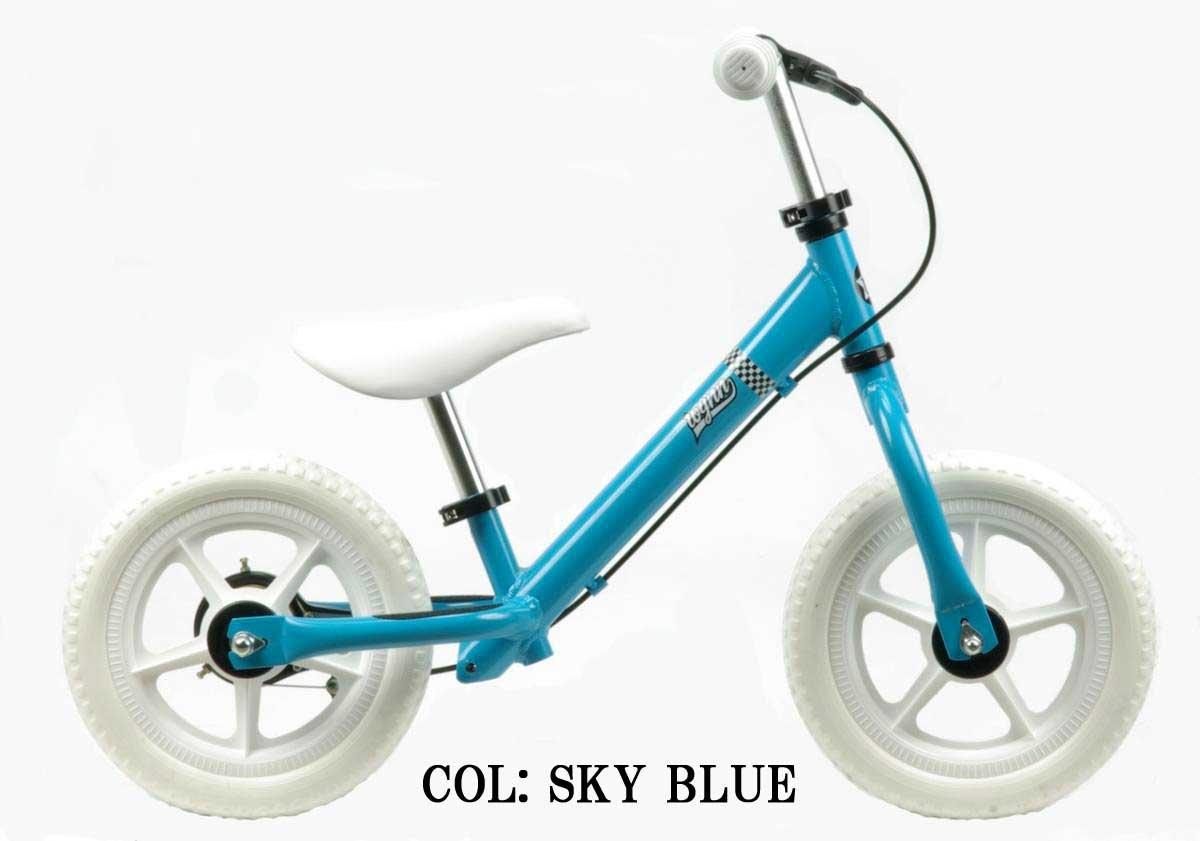 【Wynn 12インチキックバイク】 《RAINBOW Wynn12 12inch》 子供用自転車 B01CCKSWVO スカイブルー スカイブルー