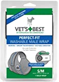 Vet's Best 1 Count Perfect Fit Washable Male Dog Wrap