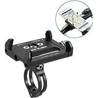 Lixada Porta Telefono Bici GUB Mountian Bici Telefono Montare Universale Regolabile Bicicletta Cellulare GPS Culla Morsetto