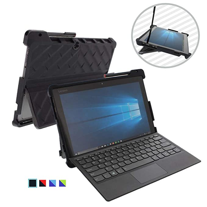 Gumdrop DropTech Case Designed for Lenovo Miix 520 and Miix 510 2-in-1 Laptop for Commercial, Business and Office Essentials - Black, Rugged, Shock ...