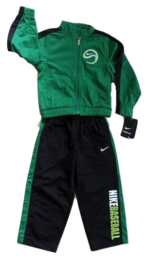 Niños Nike chaqueta con cremallera Sudadera Baseball + pantalones ...
