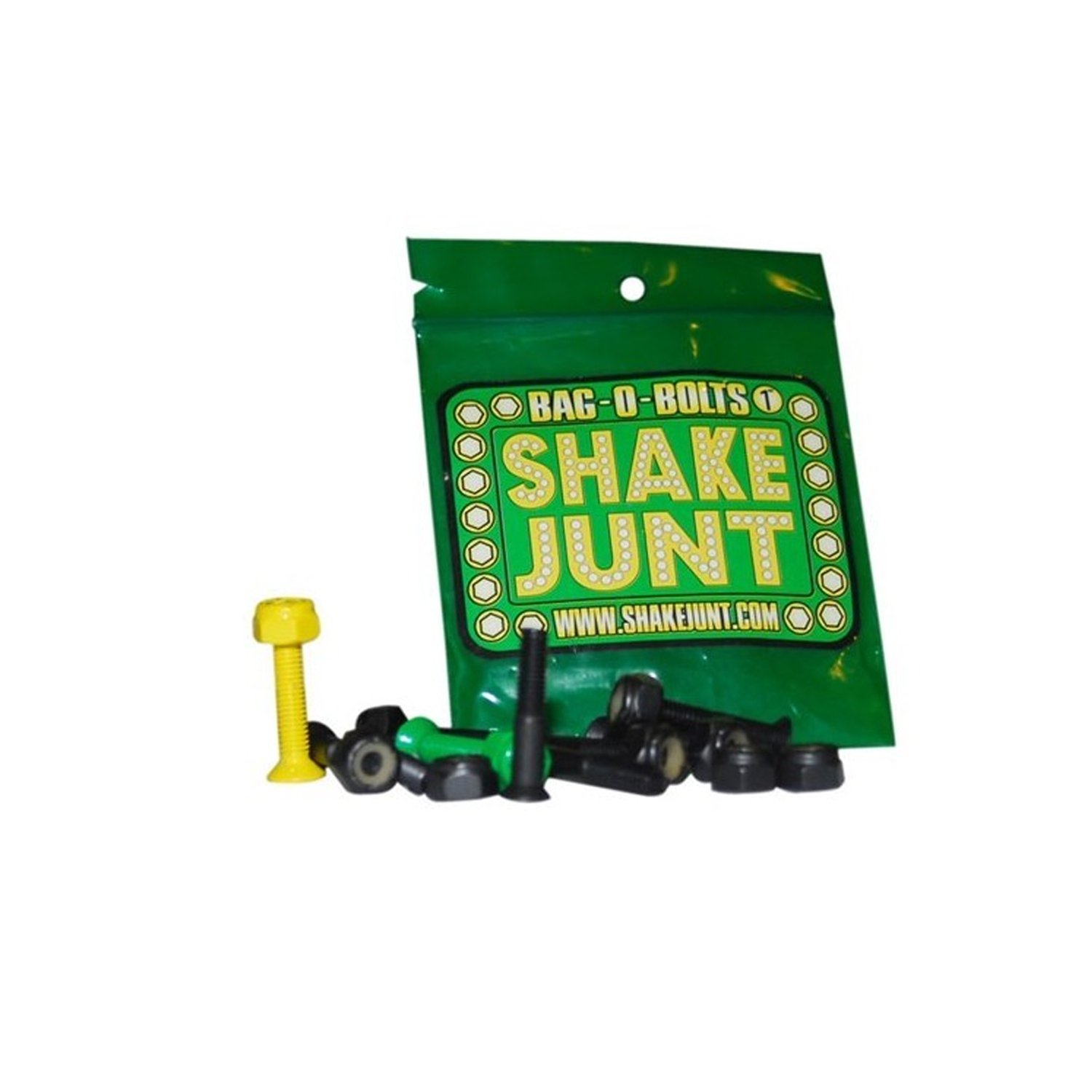 人気ブランドの Shake by Junt Bag Hardware B006T6LED6 O Bolts Black Green Yellow 7/8(allen) 1set Skateboarding Hardware by Shake Junt B006T6LED6, Zakcafe:984220ef --- svecha37.ru