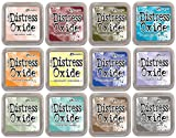 Tim Holtz Distress Oxide Ink January 2018 - 12 Item Bundle