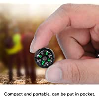 Compasses, Mini Pocket Dial Survival Compass Button Compass for Hiking Camping Outdoor 20mm Liquid Filled