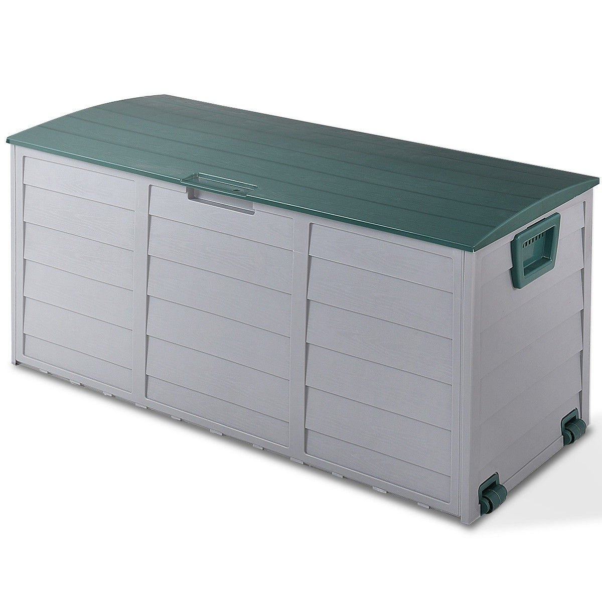 COSTWAY 70 Gallon Durable Outdoor Plasic Storage Box + FREE E-Book by COSTWAY (Image #1)