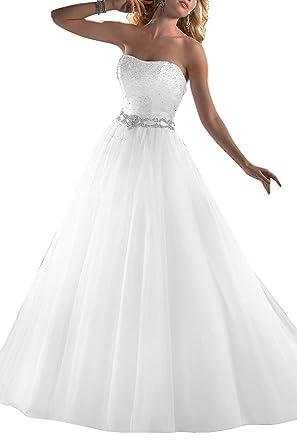 Memory Hochzeitskleider Lang Perle Brautkleider Hochzeitskleider ...