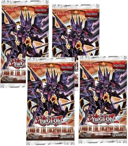 5 (Five) Pack Lot of Yu-Gi-Oh Cards: Lord of the Tachyon Galaxy Booster Packs (YuGiOh! 5 Packs Lot)
