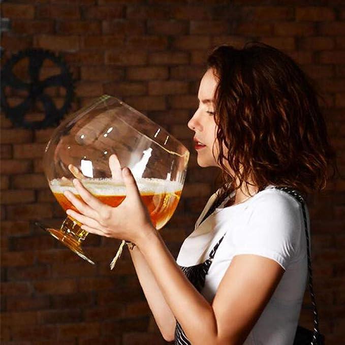 Verre À Vin Grand Verre De Vin Énorme Drôle 2000Ml 4000Ml
