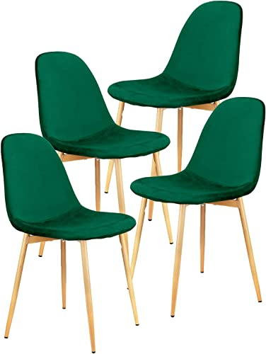 Set of 4 Mid Century Modern Side Dining Chair