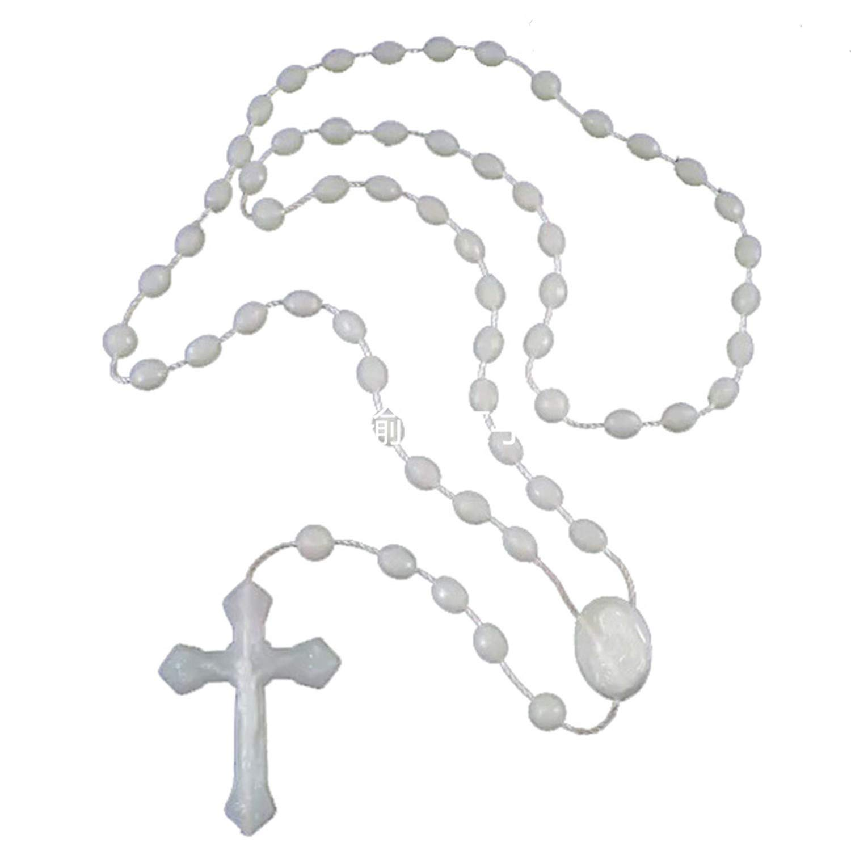 Blue Imported from Italy 12 Rosary Set xinhuida Plastic Rosary 17 Luminous in The Dark Rosary
