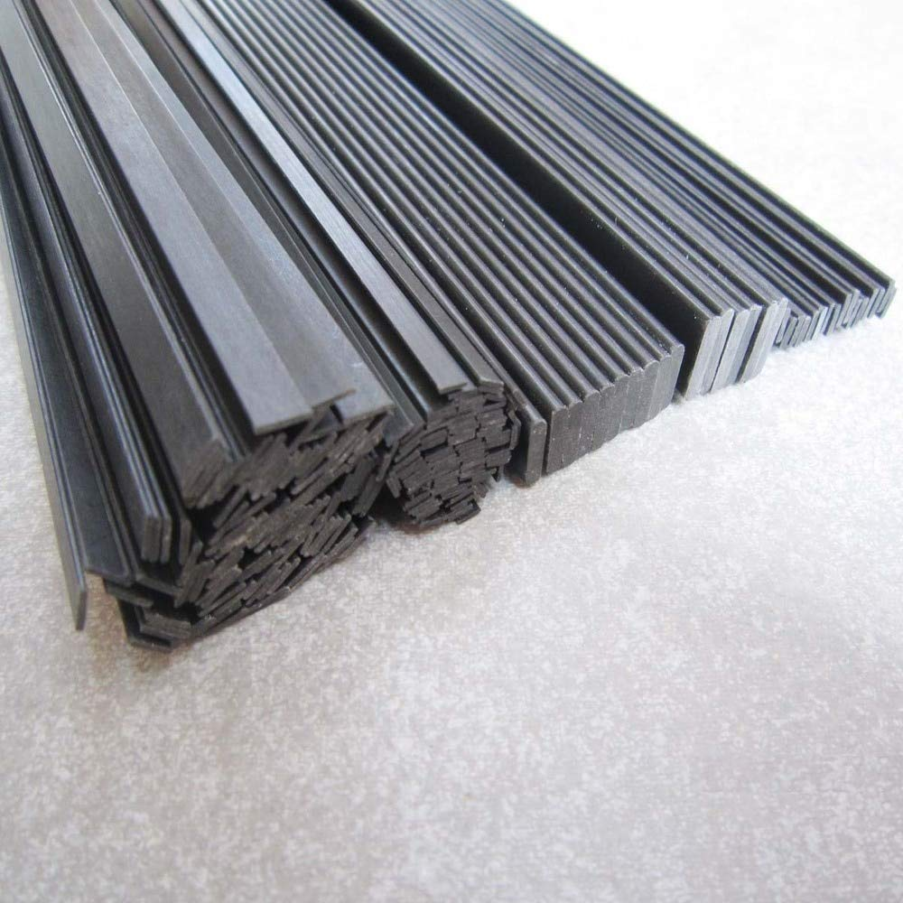 Hockus Accessories 1mm3mm1000mm Carbon Fiber pultruded Strip / bar by Hockus