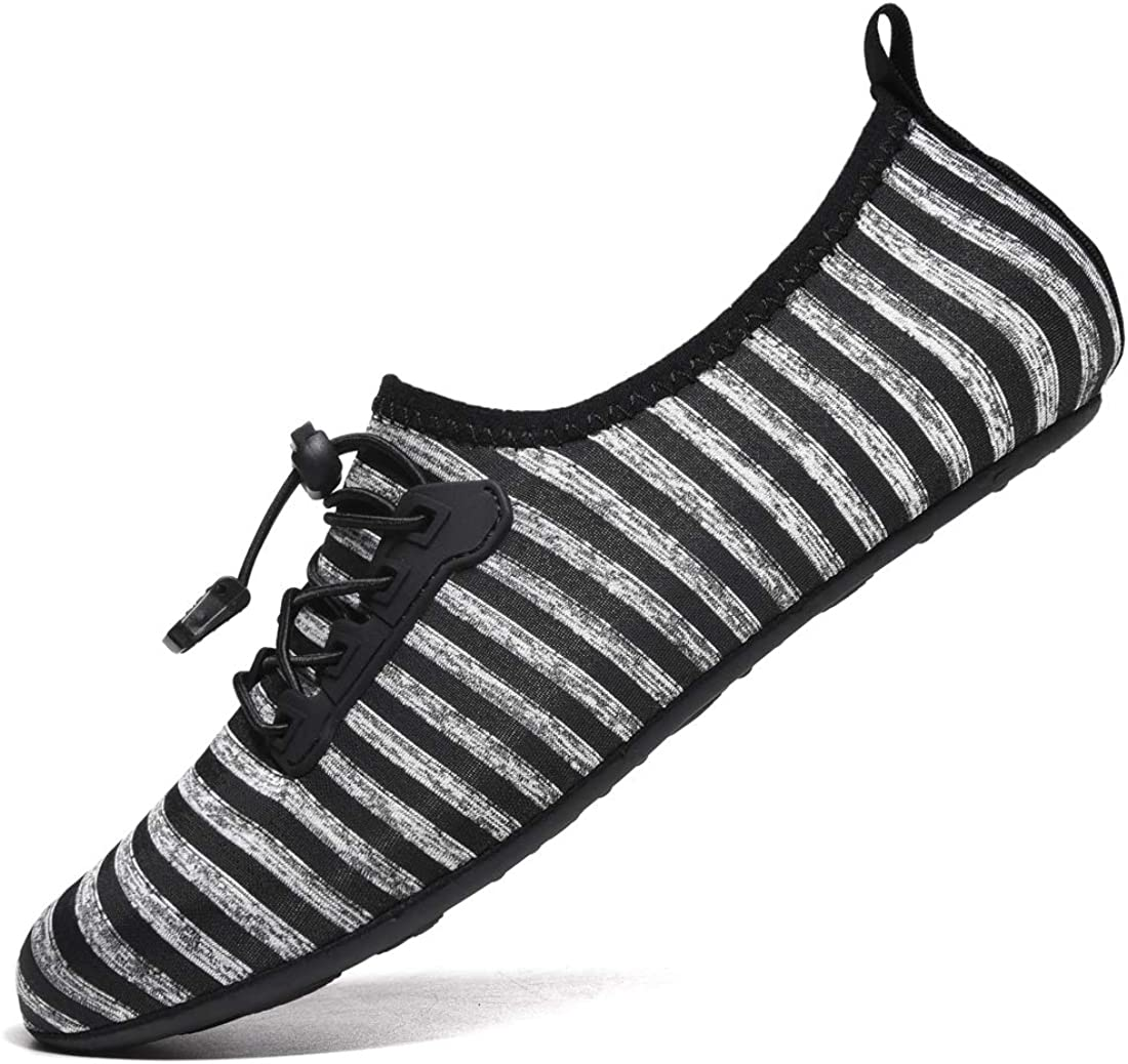 VanciLin Women's Men's Water Shoes Barefoot Quick-Dry Swim Socks
