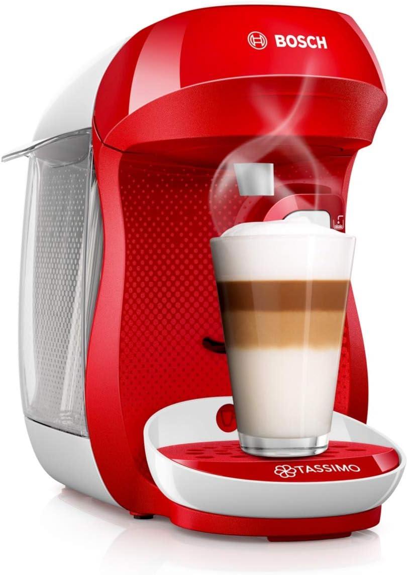 1400 W Bosch TAS1002 TASSIMO Happy Cafetera de c/ápsulas color negro