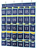 Misslo Numbered Classroom Pocket Chart for Cell