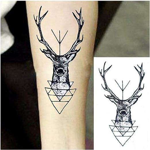 HYTGF Tatuaje Temporal Etiqueta engomada 10.5 * 6 cm Impermeable ...