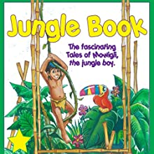 The Jungle Book Audiobook by Rudyard Kipling Narrated by  Great American Audio Studio Talent