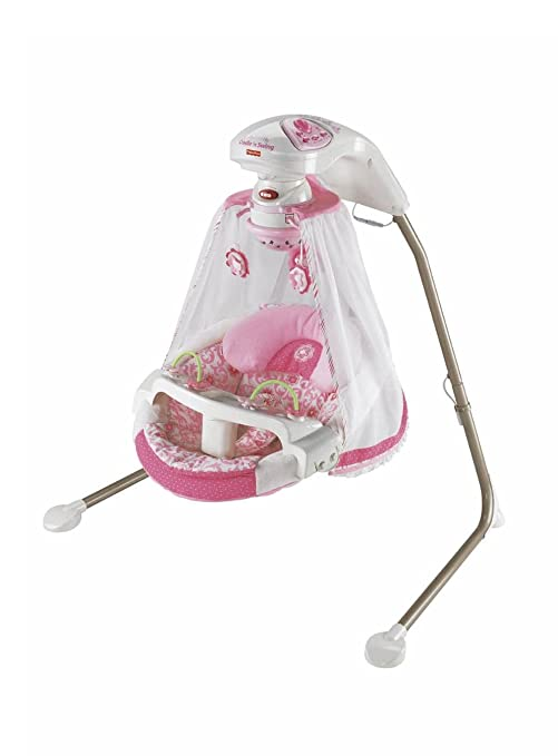 Buy Fisher Price Butterfly Garden Cradle N Swing Pink Online At Low Prices In India Amazon In