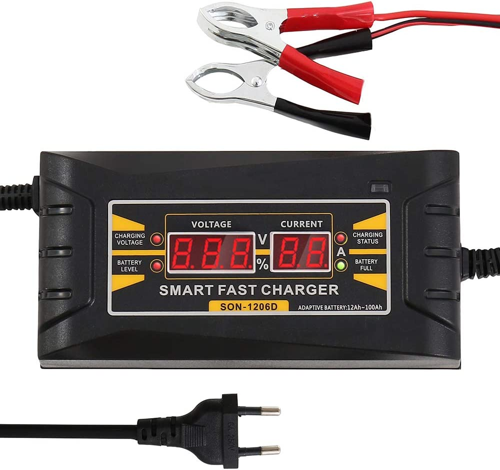 DE9107 fast battery charger