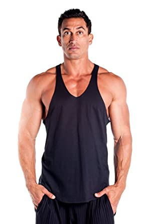 2e9ce62eafc04 Amazon.com  Mens Stringer Tank Top by Pitbull in your choice of ...