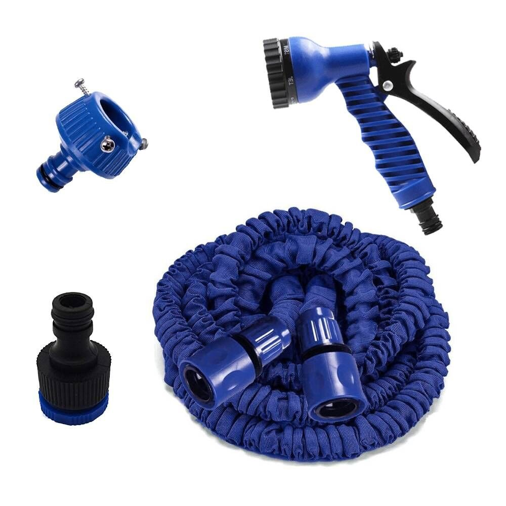 Watering Equipment, Deluxe Expandable Garden Hose Pipe, Tap to Pressure Washer Suitable. Professional Spray Gun,In 2017, The New Garden Water Sprinkler Hose, Car Wash Pressure Spray Nozzle (25FT)