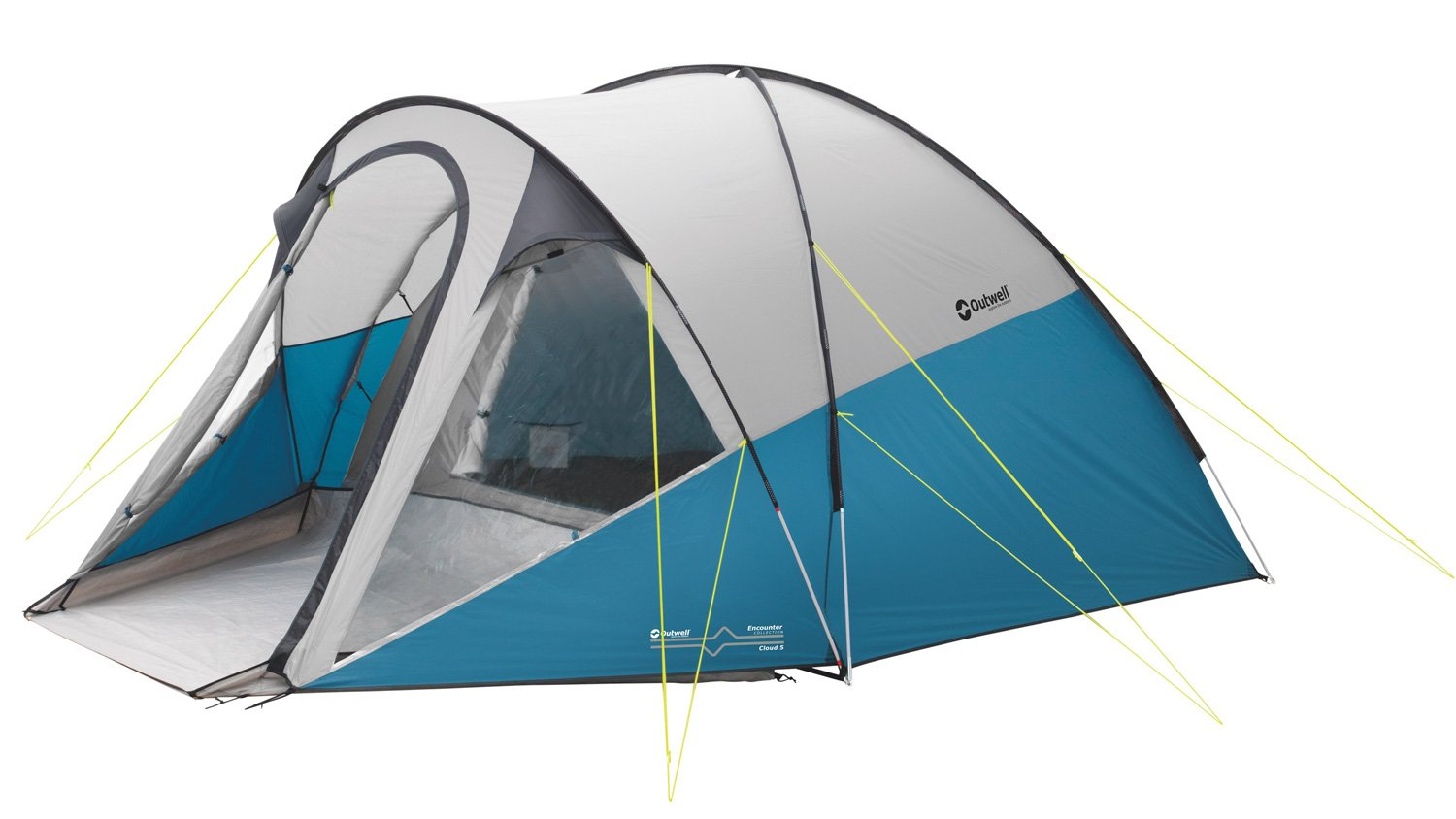 Outwell Cloud 5 Tent grey/blue 2016 tube tent Amazon.co.uk Sports u0026 Outdoors  sc 1 st  Amazon UK & Outwell Cloud 5 Tent grey/blue 2016 tube tent: Amazon.co.uk ...