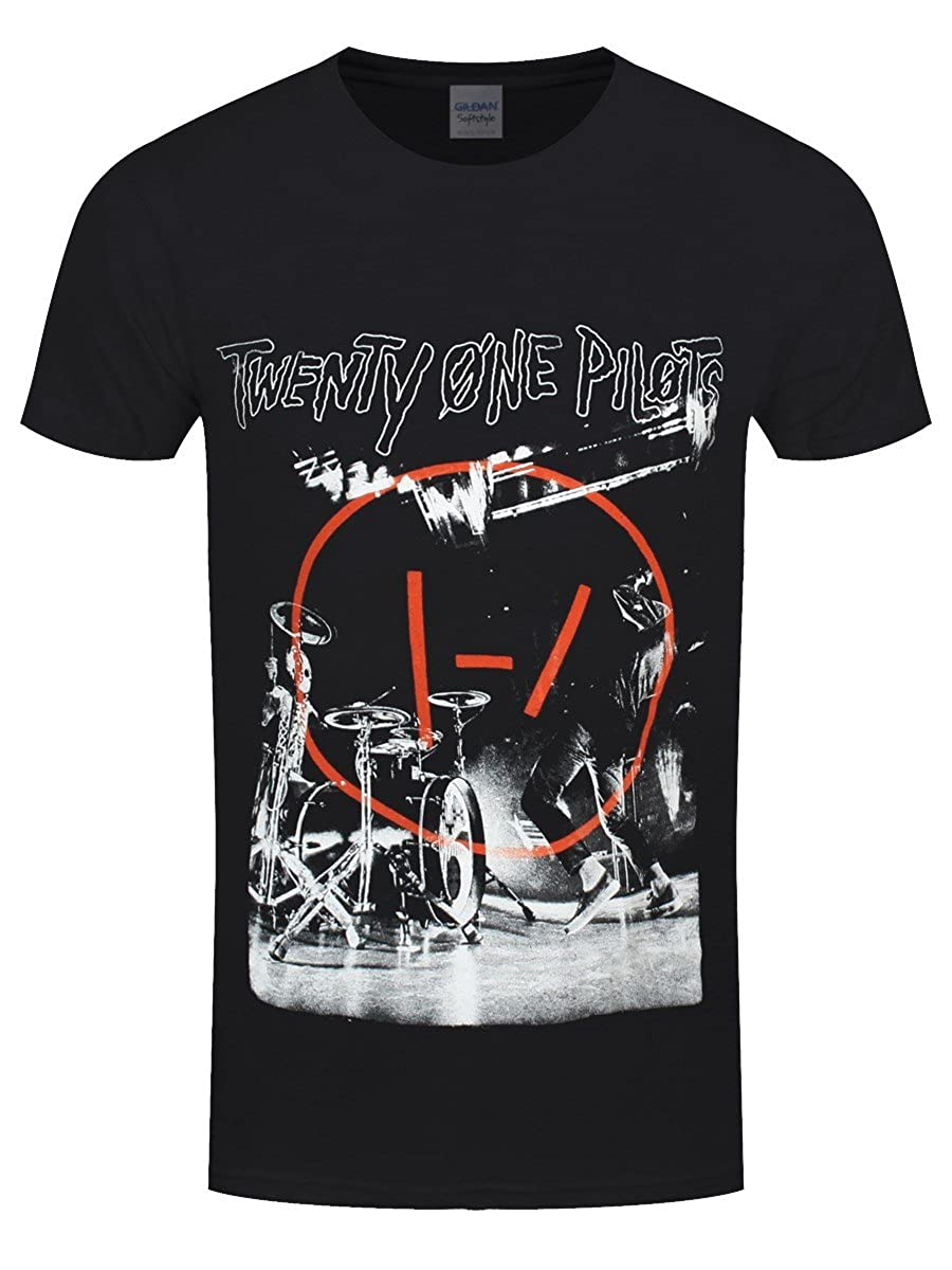 Twenty One Pilots Men's Stage Black T-Shirt