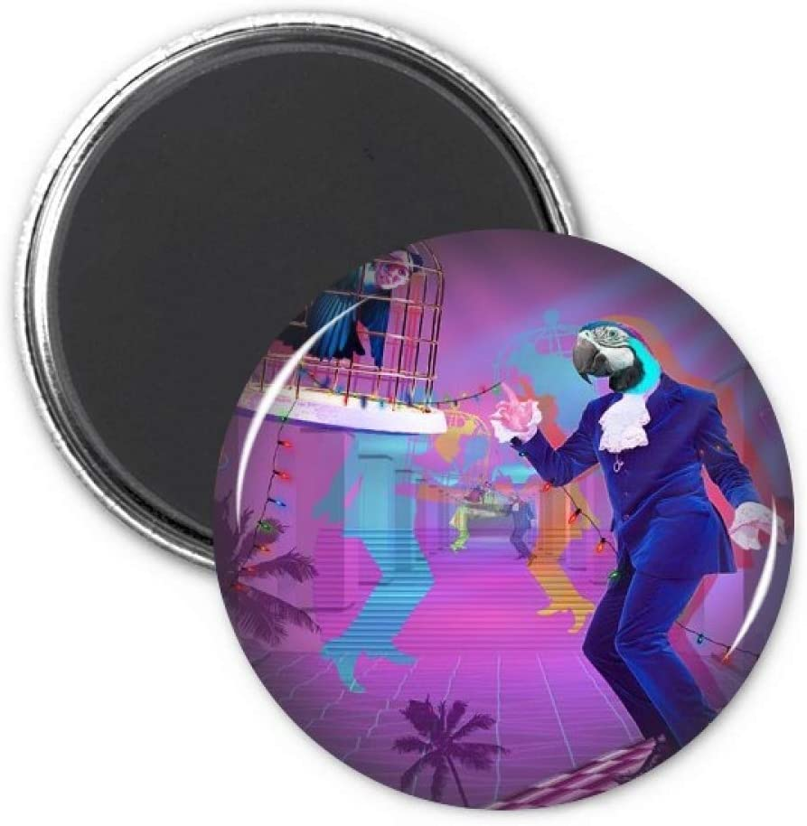 Dance DJ Fantasy Design Refrigerator Magnet Sticker Decoration Badge Gift