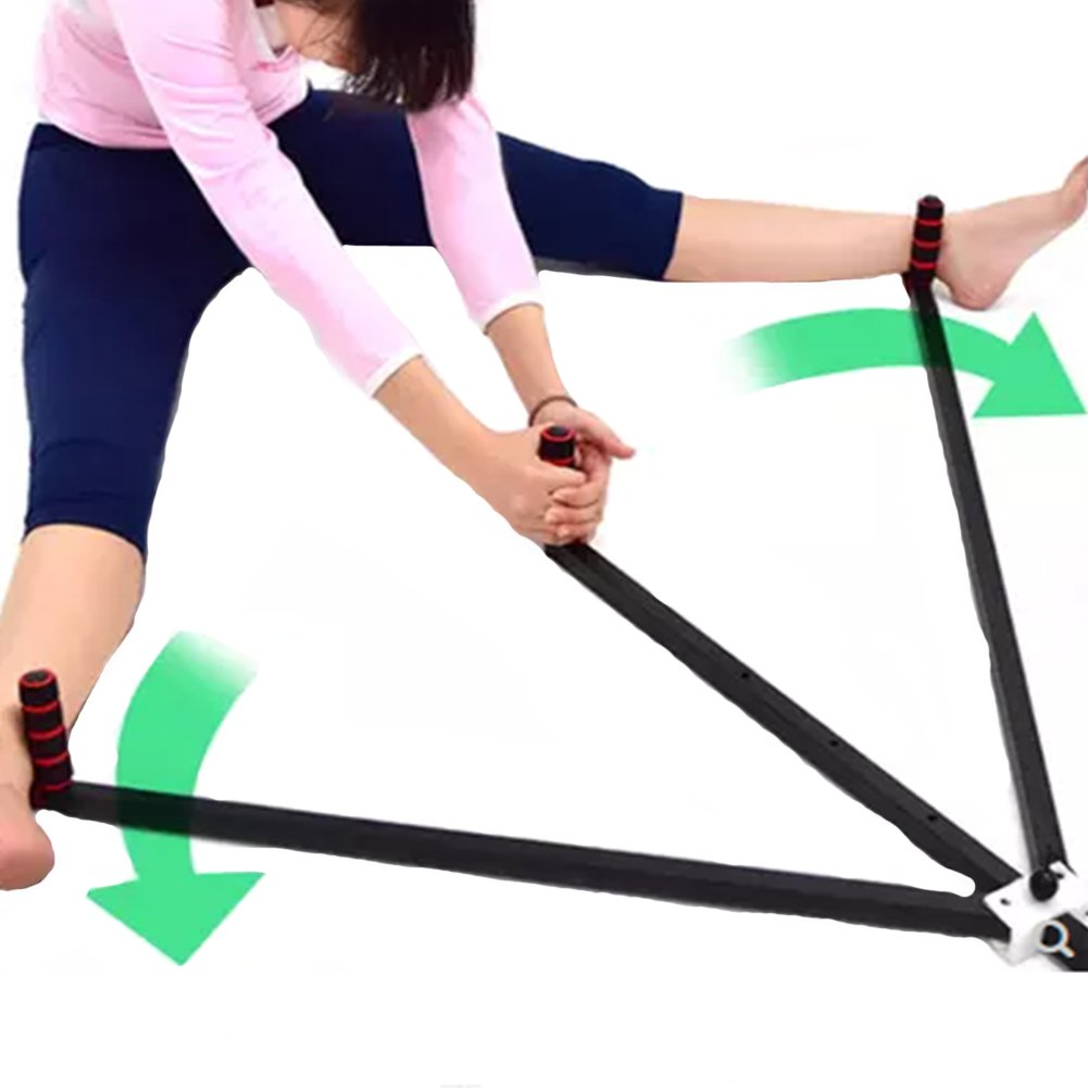 JOEPET Leg Stretcher Heavy Duty Gymnastics 3 Bar Stretching Machine Martial Arts Stretch Leg Stretcher Split