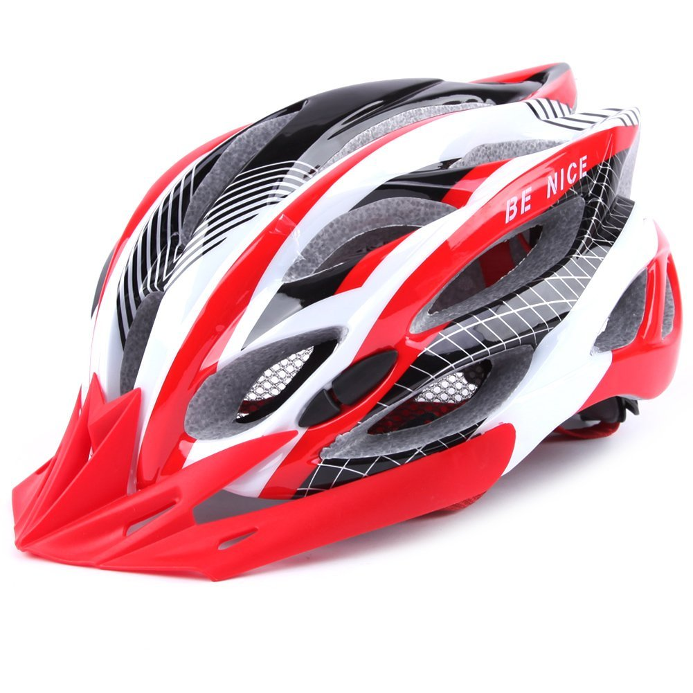 Benice Adult Road Mountain Bike Cycling Sports Safety Helmet, Bicycle Adult Helmet Specialized for Mens Womens Safety Protection Champion sports