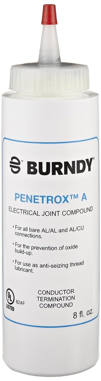 P8A Compuestos para las articulaciones que inhiben los óxidos PENETROX A, Tamaño de contenedor de 8 onzas, Tipo de contenedor de botella de compresión ...