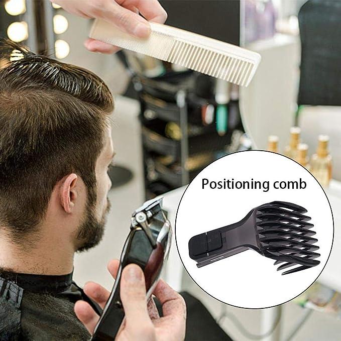 Cortapelos con guía de peinado, peine eléctrico, herramientas de ...