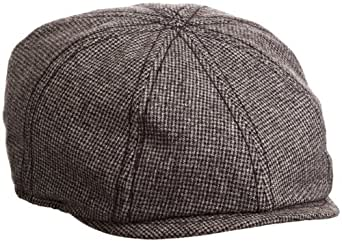 Goorin Bros. Men's Schultz Newsboy Cap, Charcoal, Small
