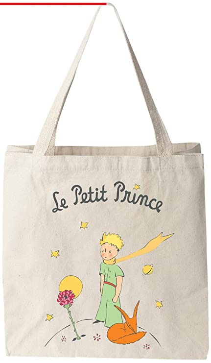 e8ddde014 Amazon.com: The Little Prince - Natural Cotton Canvas 12 Oz Reusable ...